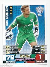 2014 / 2015 EPL Match Attax Base Card (218) Rob GREEN Queens Park Rangers