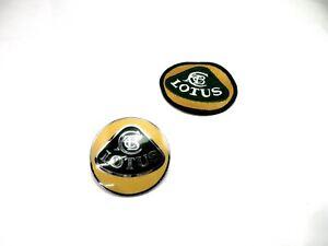 Lotus Esprit 1989-2004 NOS Hood Ornament Emblem and Patch