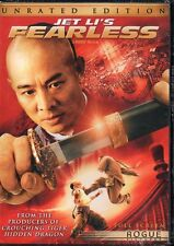 Fearless Unrated Edition - Jet Li - REGION 1 NTSC DVD NEW SEALED