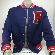 RALPH LAUREN POLO BASEBALL JACKET VARSITY NEW YORK JACKET SIZE LARGE RRP £195