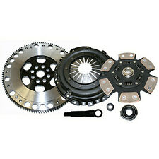 STAGE 4 6-PUCK COMPETITION CLUTCH + FLYWHEEL PACKAGE HONDA CIVIC D15 D16 HYDRO