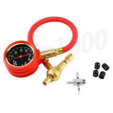 Pointer Motorcycle Tire Pressure Gauge Air Deflator Bleeder Valve Tool 0-75psi