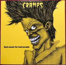 The Cramps Bad Music For Bad People I.R.S. LP Canadian Pressing