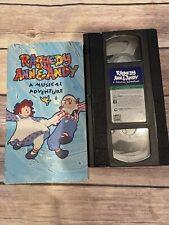 Raggedy Ann & Andy A Musical Adventure 1976 (VHS, 1992) RARE OOP