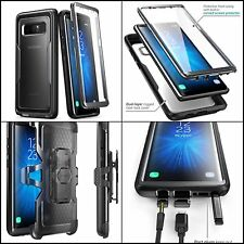 Case For Samsung Galaxy Note 8 W Clear Screen Cover Protector Belt Clip Holster