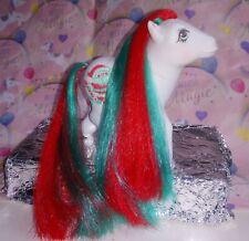 My Little Pony G1 Merry Treats Vintage Christmas Pony China 1984 Xmas Santa MLP