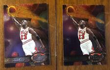 2 MICHAEL JORDAN 1997-98 97 Metal Universe #23 Chicago Bulls 🔥🔥Last Dance🔥🔥