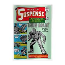 IRON MAN TALES OF SUSPENSE 39 Comic Book Marvel 2019 1oz Pure Silver Movie Foil