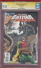Batman Odyssey 4 CGC SS 9.8 Neil Adams Signed Top 1 Robin Bondage Color Cover