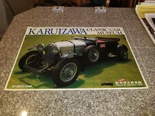 KARUIZAWA 1927 BENTLEY LE MAN  RARE GLOSSY POSTER MATSUDA COLLECTION FROM JAPAN