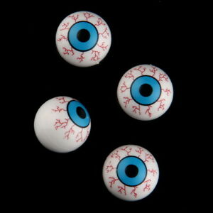 Bloodshot Eye Blood Vessel Horror Scare Car Auto Tire Valve Stem Air Caps Cover