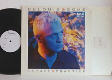 "MAXI 12"" BELOUIS SOME Target practice  TEST PRESSING"