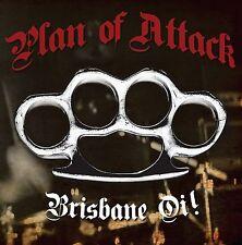 """PLAN OF ATTACK Brisbane Oi! new 7"""" SPLATTERED VINYL Aussie Oi! Punk Longshot"""