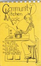 *TULSA OK 1972 VINTAGE COOK BOOK *COMMUNITY KITCHEN MAGIC *CHRISTIAN CHURCH