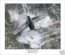 Focke Wulf Fw 190 Aviation Art Print