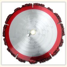 "Demolition Blades for Cut Off Saws,Rescue,Railway Ties,Nails,Sheet Metal,14"" X1"""