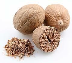 Whole Nutmeg Pods- Top quality spice, Grade A- 50g