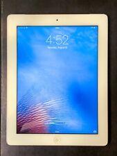 Apple iPad 2 16GB, Wi-Fi + Cellular (Verizon), 9.7in - White Good Condition!