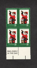 SCOTT # 1472 Christmas Issue United States U.S. Stamps MNH - Margin Block of 4