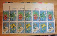 US Stamp 15 cent Endangered Flora Block of 14 1979 Scott #1783-6