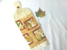 New Hampshire Maple Leaf Magnet Ornament Kitchen Towel NEW Handcrafted