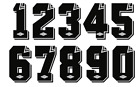 Umbro 80s Vinyl Football Shirt Soccer Numbers Heat Jersey Everton Spurs Ipswich