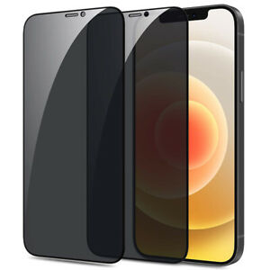 For iPhone 13 12 11 Pro X XS XR XS Max Tempered Glass Privacy Screen Protector
