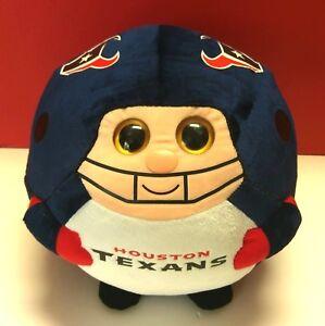 Houston Texans Ty Beanie Ball Football Player Plush Stuffed Toy Pillow NFL