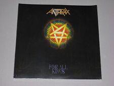 ANTHRAX For All Kings 2LP gatefold New Sealed Vinyl 2 LP 2016
