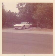 Classic Car FOUND PHOTO Color FREE SHIPPING Original VINTAGE Sportscar 811 32 Q