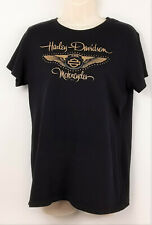 Harley Davidson VOODOO New Orleans 110th Anniversary T Shirt Womens XL