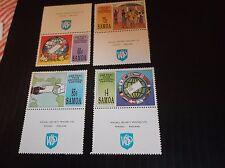 SAMOA 1993 SG 903-906 WORLD POST DAY  MNH