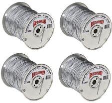 (4) rolls Keystone Steel & Wire 85610 1/4 Mile 14 Gauge Electric Fence Wire