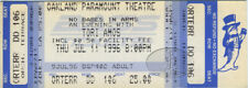 TORI AMOS 1996 Unused Concert Ticket Oakland Paramount
