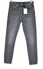 Womens Levis 501 SKINNY High Rise Washed Black Jeans Size 10 W29 L30