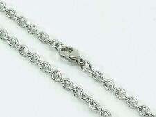 "Mens Womens Link Chain Necklace Stainless Steel 316L 30"" 3mm 10g Unisex"