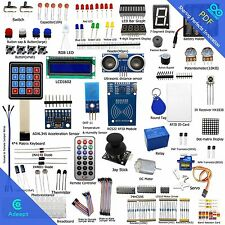 Adeept RFID Starter Leaning Kit for Arduino UNO R3 from Knowing to Utilizing LED