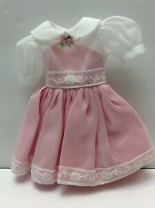"NEW Mary Hoyer Doll Co. Tagged Modern 14"" Pretty Pink Party Dress"