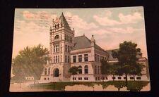 VINTAGE MINNE-LUSA STATION, WATER WORKS, OMAHA, NEBRASKA POSTMARKED 1911