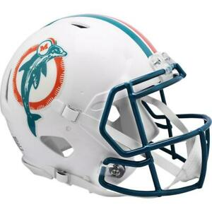 MIAMI DOLPHINS 1980-96 Riddell Throwback Authentic Football Helmet