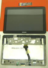 "DISPLAY+ TOUCH SCREEN+COVER ORIGINALE SAMSUNG GALAXY TAB 10.1"" SM-P7500 LCD NERO"