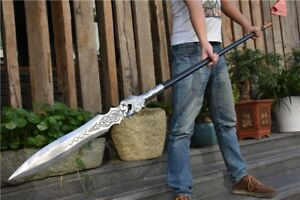 ZhaoYun Vengeance spear pike lance sword High manganese steel blade #4668