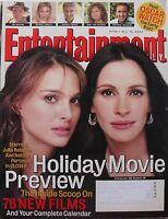 NATALIE PORTMAN & JULIA ROBERTS 2004 Entertainment Weekly GEORGE CLOONEY +++