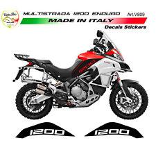 """Adesivi per serbatoio - Moto Ducati Multistrada 1200 Enduro """"V809"""""""