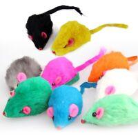 5pcs Cat Nip Mice Catnip Mouse Cat / Kitten fur toy Random Color Cats Gift