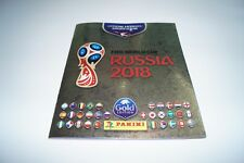 PANINI Russia 2018 World Cup 18 - Leeralbum Gold Edition empty album Schweiz