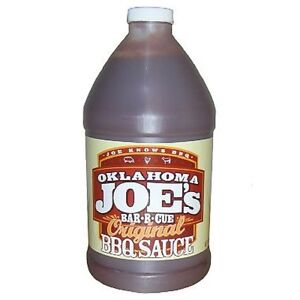 OKLAHOMA JOE'S ORIGINAL BAR-B-Que SAUCE, 64 oz. JUG, Free USA Shipping       #ss
