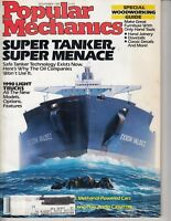 Popular Mechanics Magazine November 1989 Super Tanker Menace Exxon Valdez Trucks