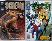 🩸 SCREAM CURSE OF CARNAGE TPB + VENOM LETHAL PROTECTOR #4 NEWSSTAND Spider-Man