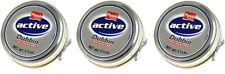 3 x Punch Active Dubbin Neutral Tin Waterproofs Leather Shoe Boot Care Wax 50ml